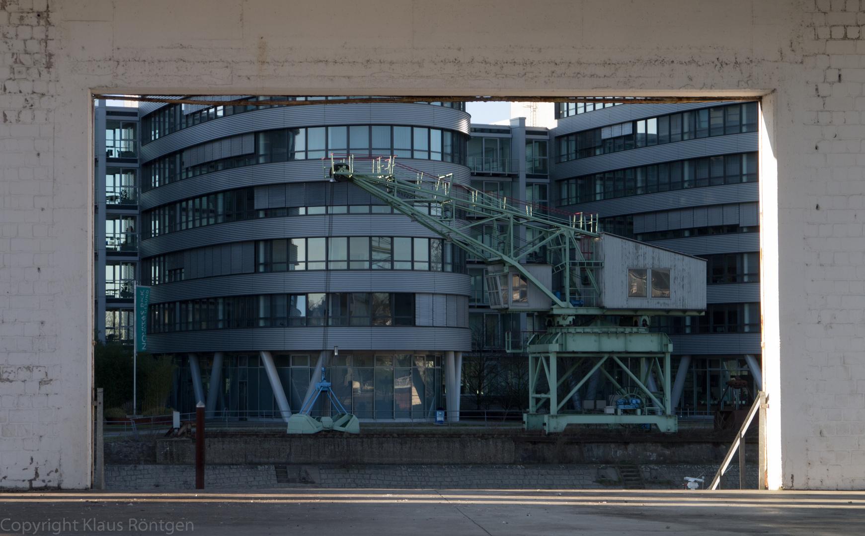 Innenhafen in Duisburg 1