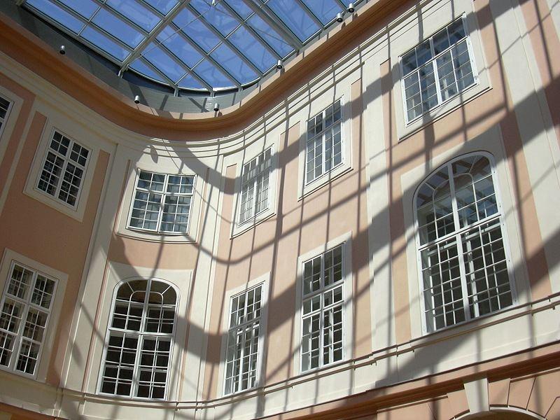 Innenhof der Albertina