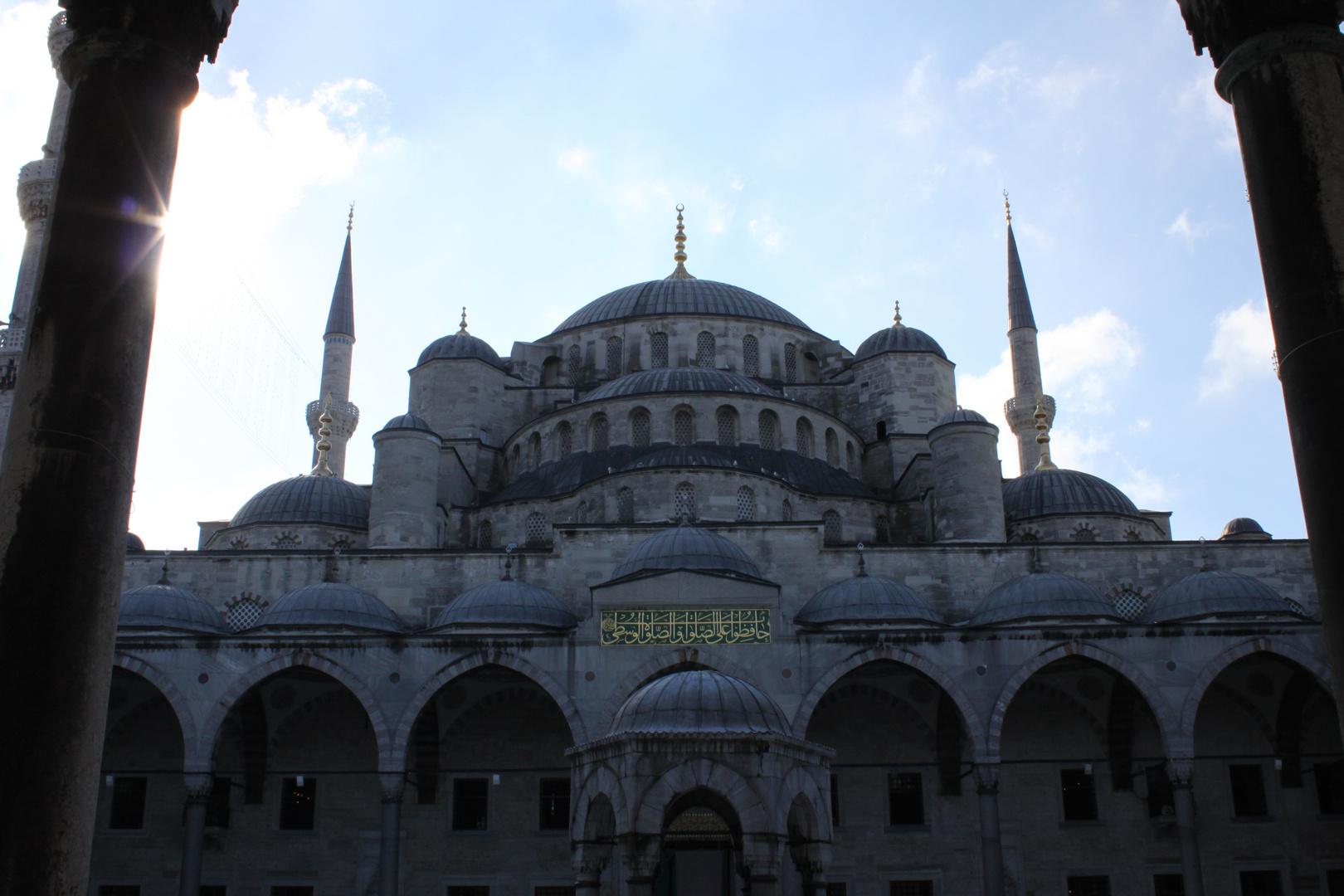 Innenhof der Blauen Moschee