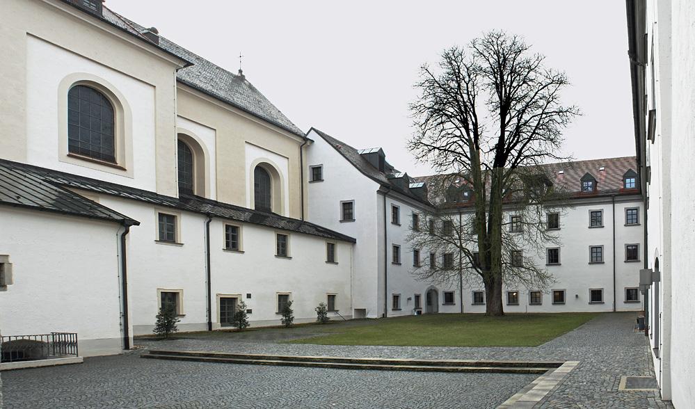 Innenhof der Hochschule für Kirchenmusik