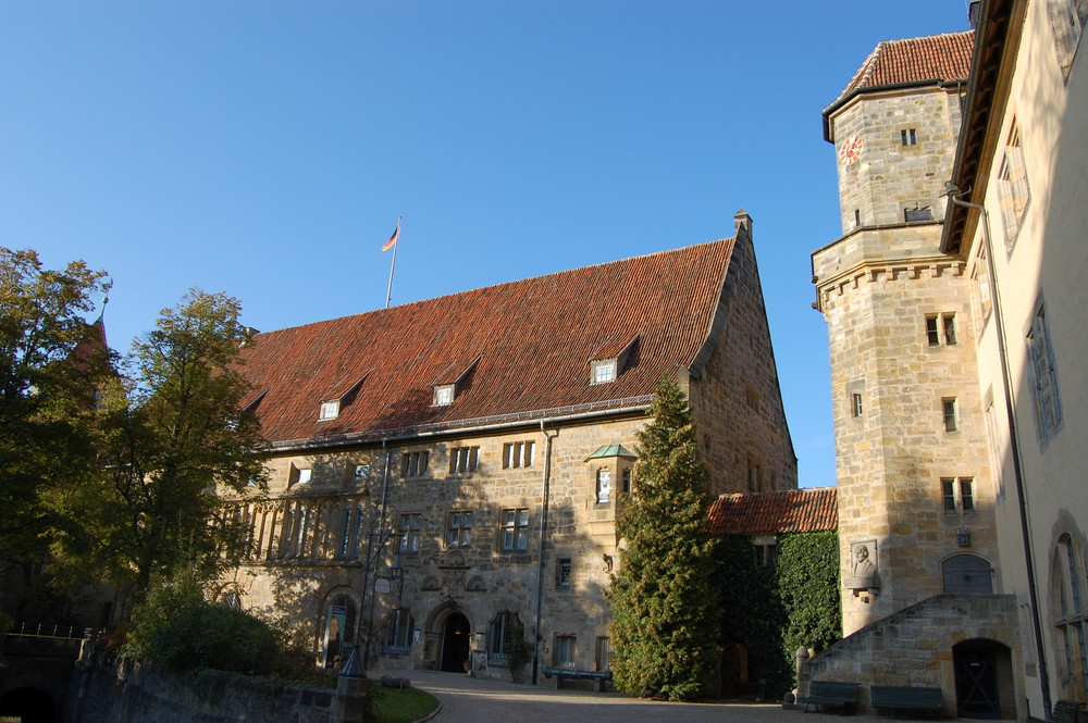 Innenhof der Veste Coburg