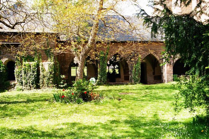 Innenhof Dom Merseburg