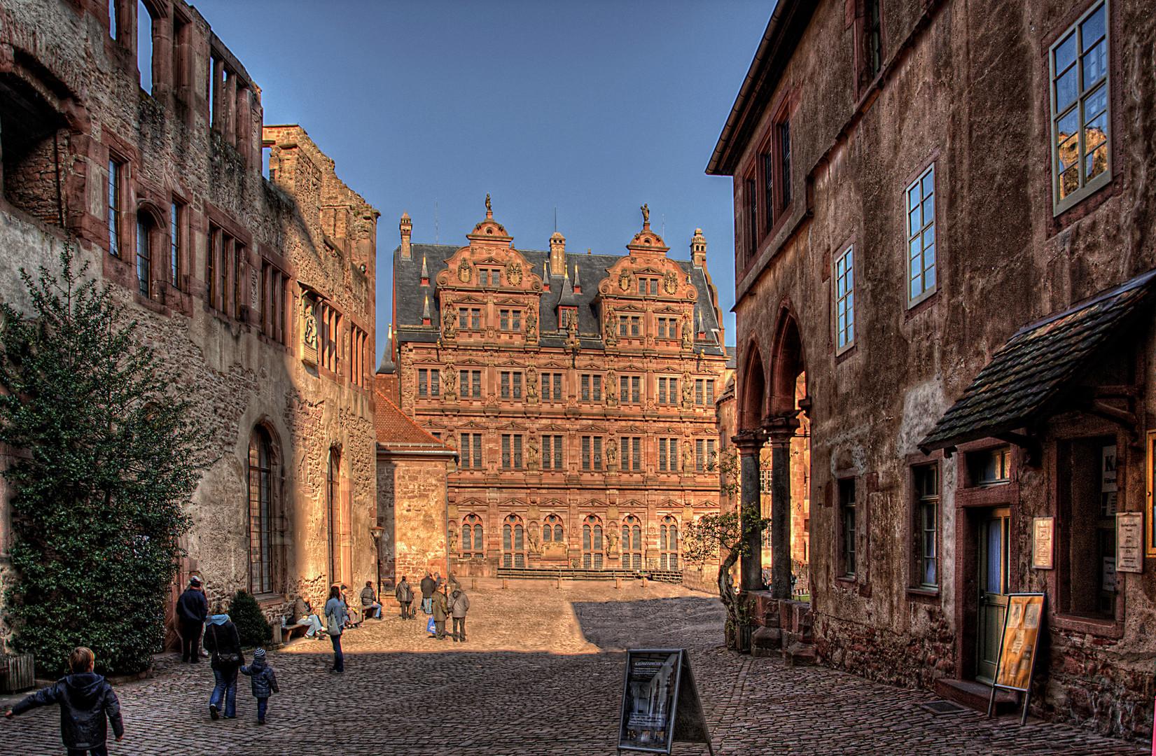 Innenhof Heidelberger Schloß