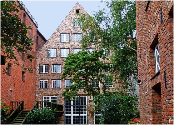 Innenhof in der Lübecker Altstadt