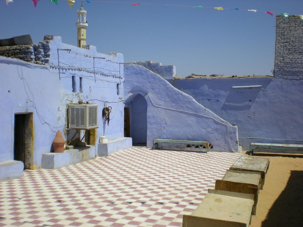 Innenhof in einem Nubischen Haus