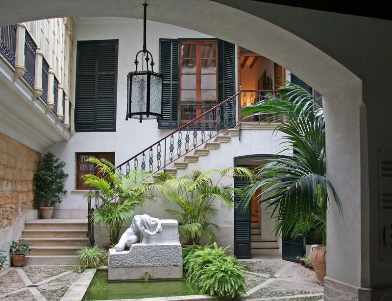 Innenhof in Palma