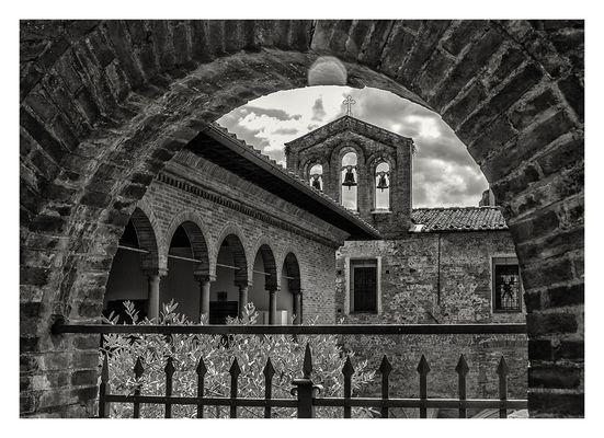 Innenhof in Siena