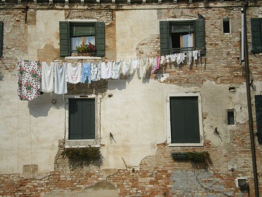 Innenhof in Venedig