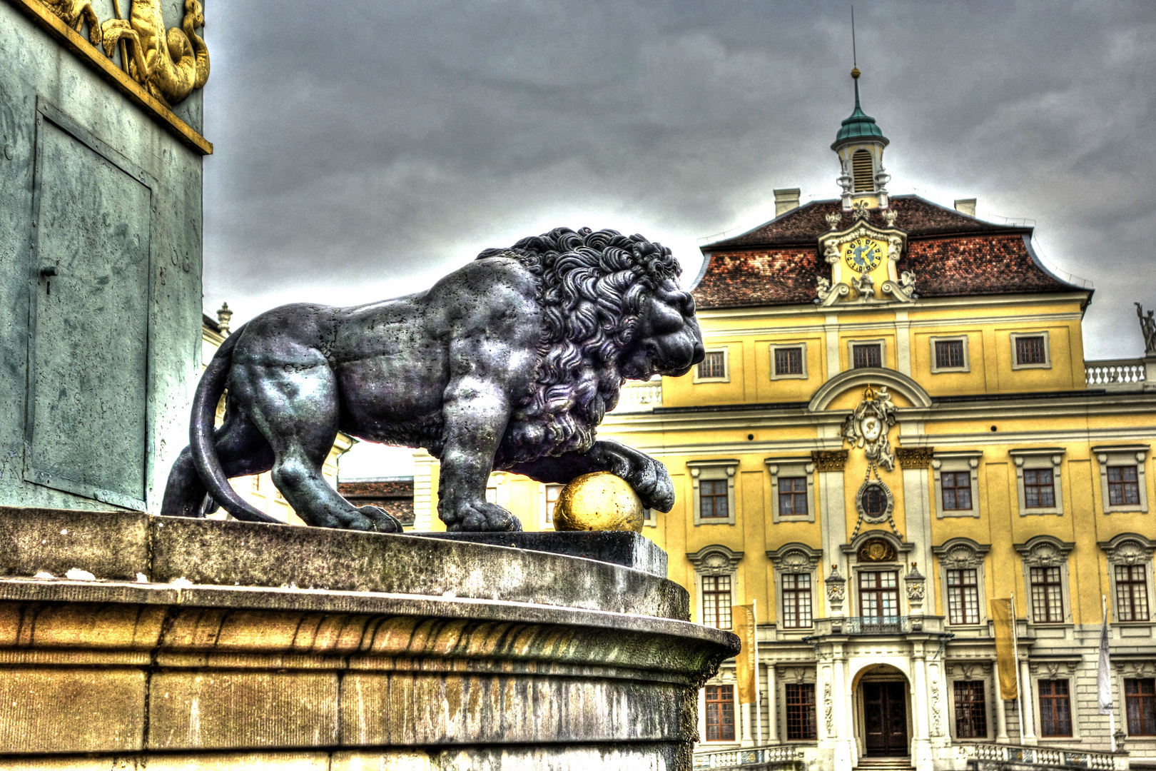 Innenhof Schloss Ludwigsburg