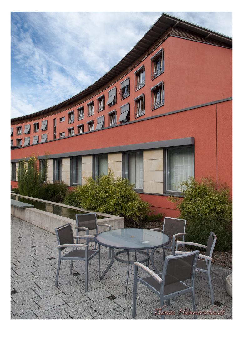 Innenhof vom Rehazentrum Bad Eilsen