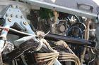 Innenleben eines Hubschraubertriebwerkes