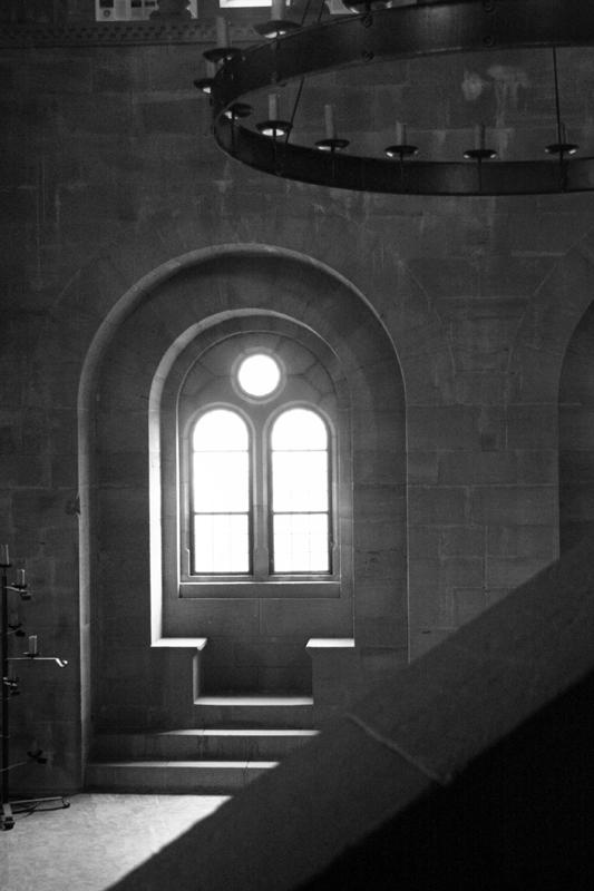 Innenraum einer Burg