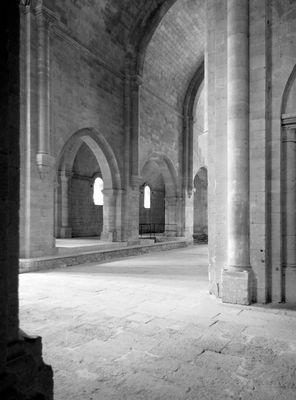 Innenraum Kloster Silvacane, Frankreich