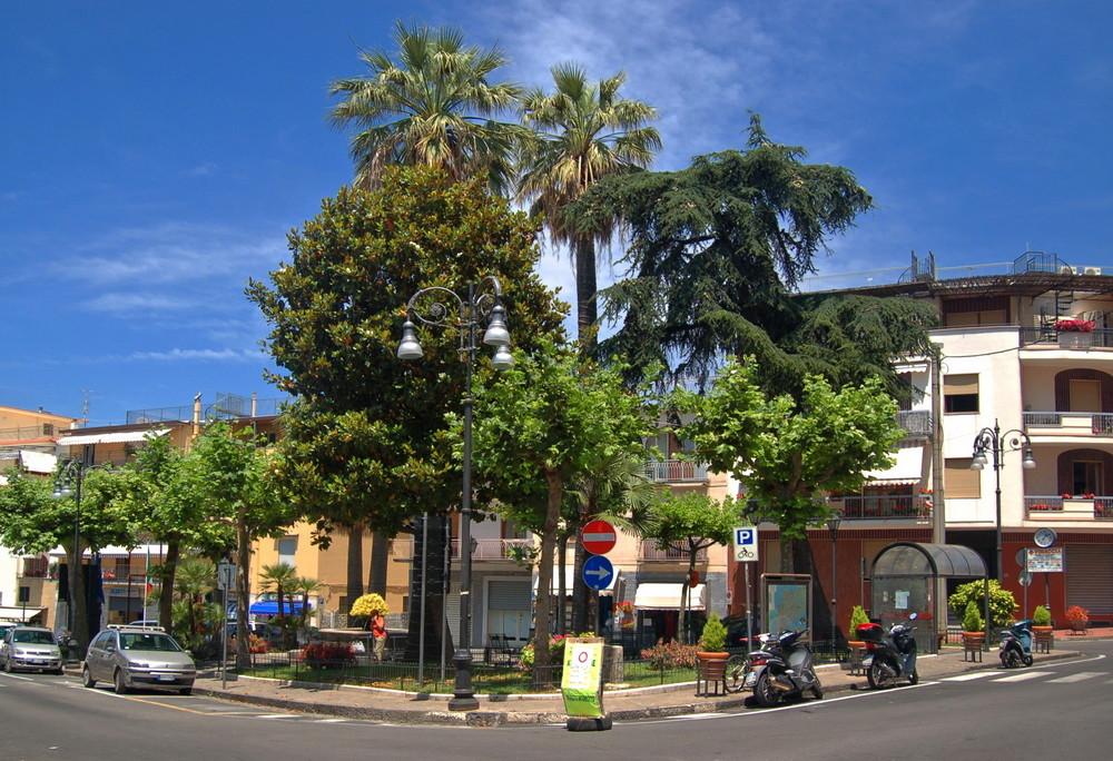 Innenstadt Massa Lubrense