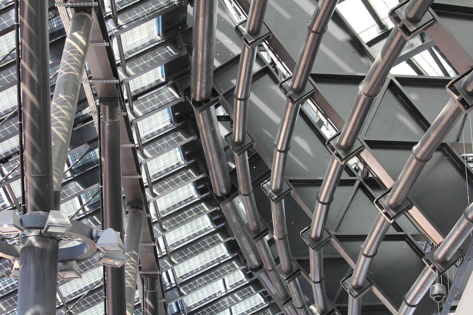 Innenstruktur Klimahaus