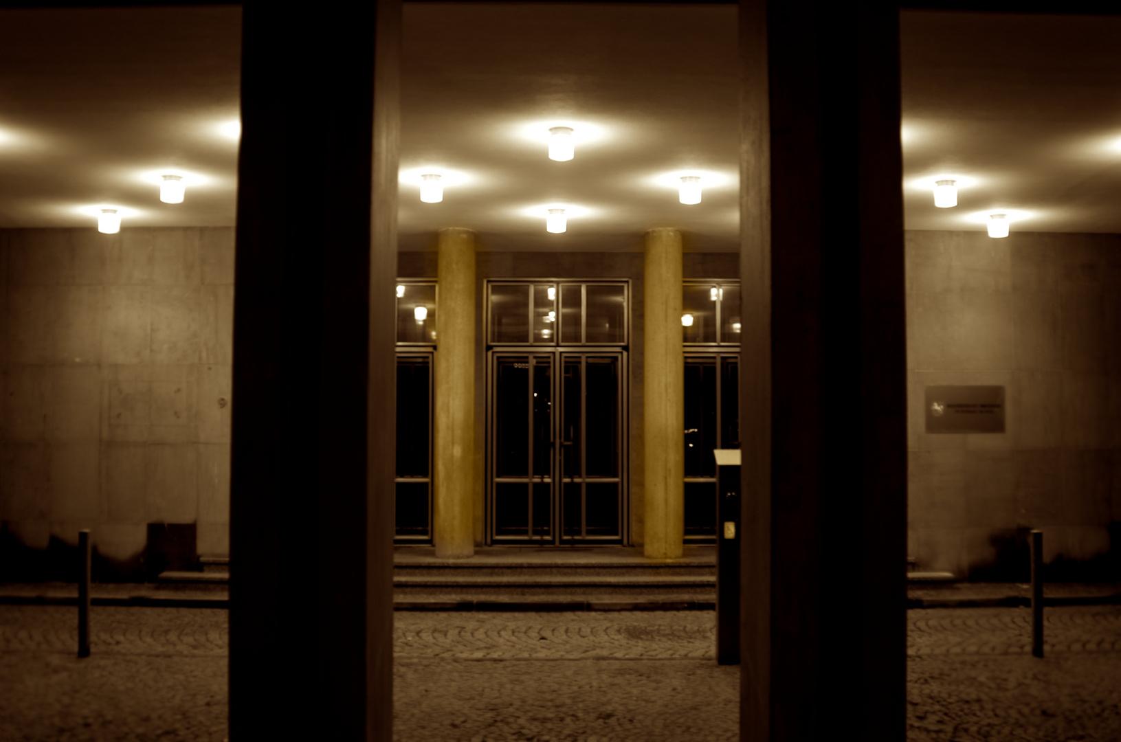 Inneres bei Nacht...