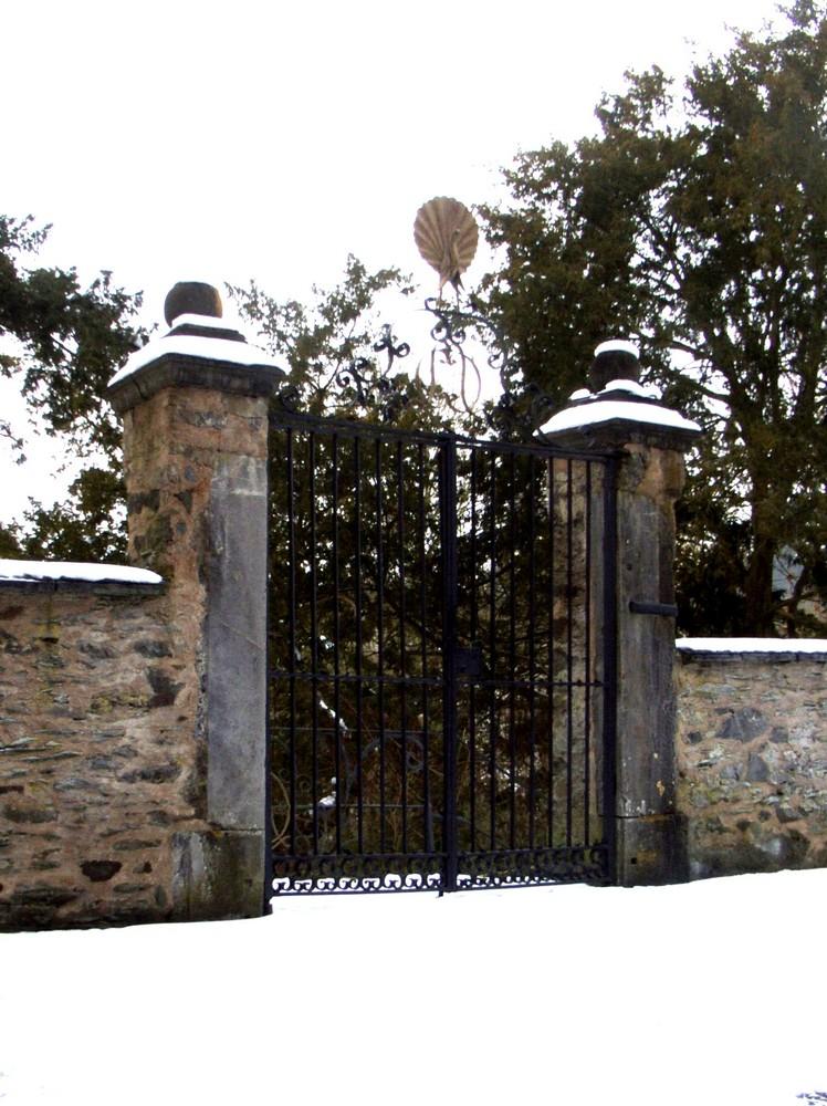Inneres Tor in der Burg Runkel