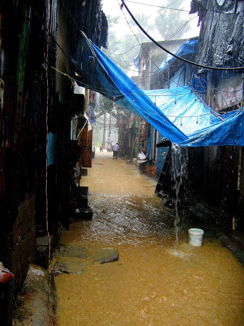 Innondations Mumbaï, Bombay en 2007
