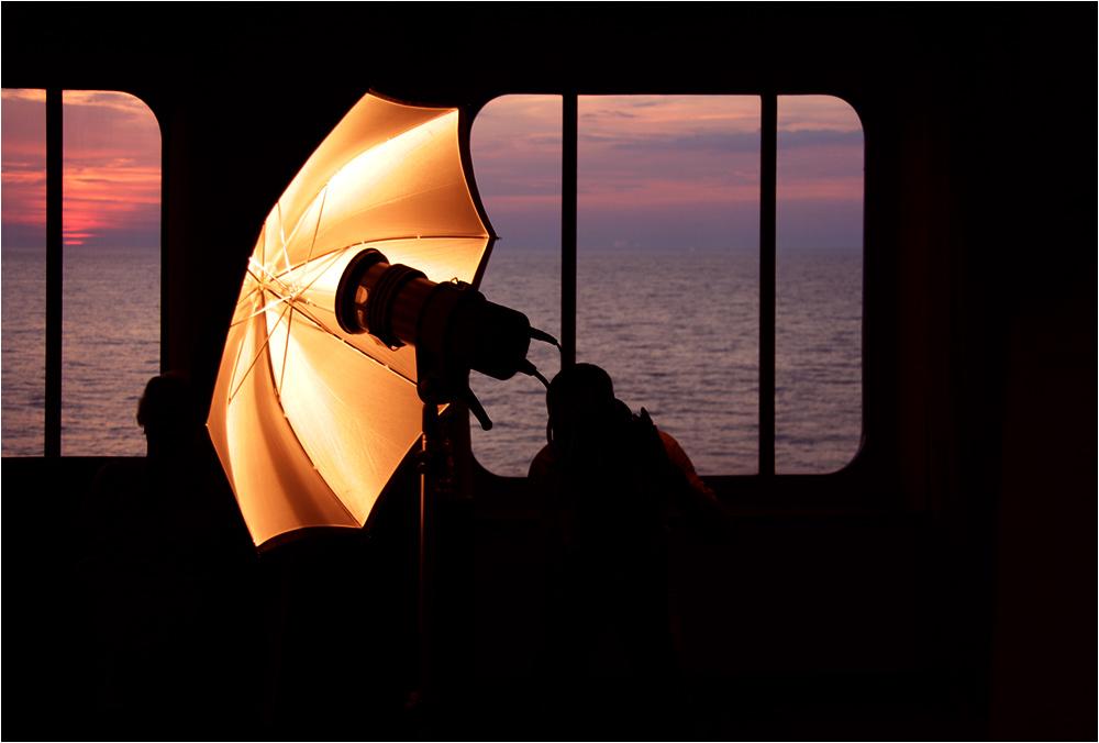 innovative Sonnenuntergangsknipserei