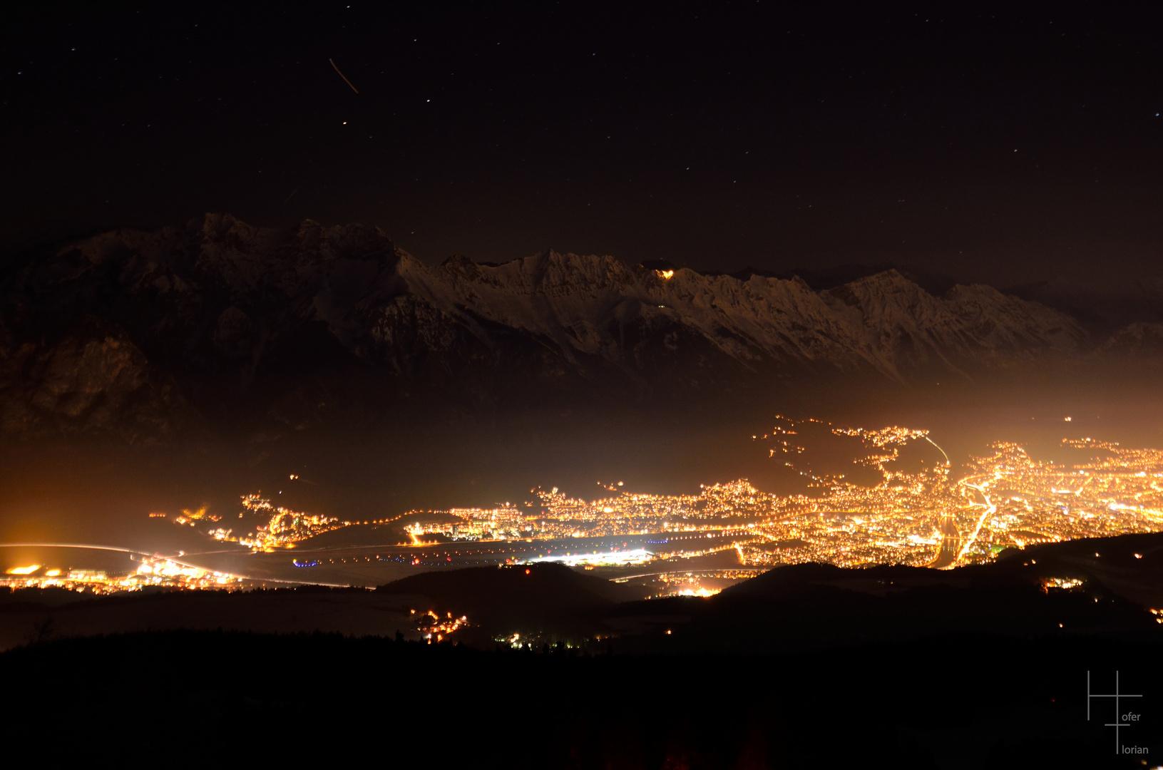 Innsbruck bei Nacht 2