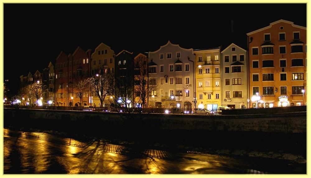 Innsbruck by night