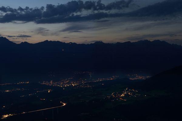Innsbruck mit Europabrücke
