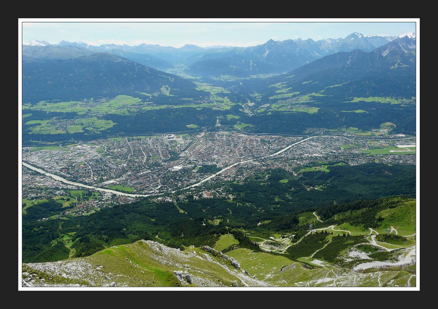 Innsbruck von oben