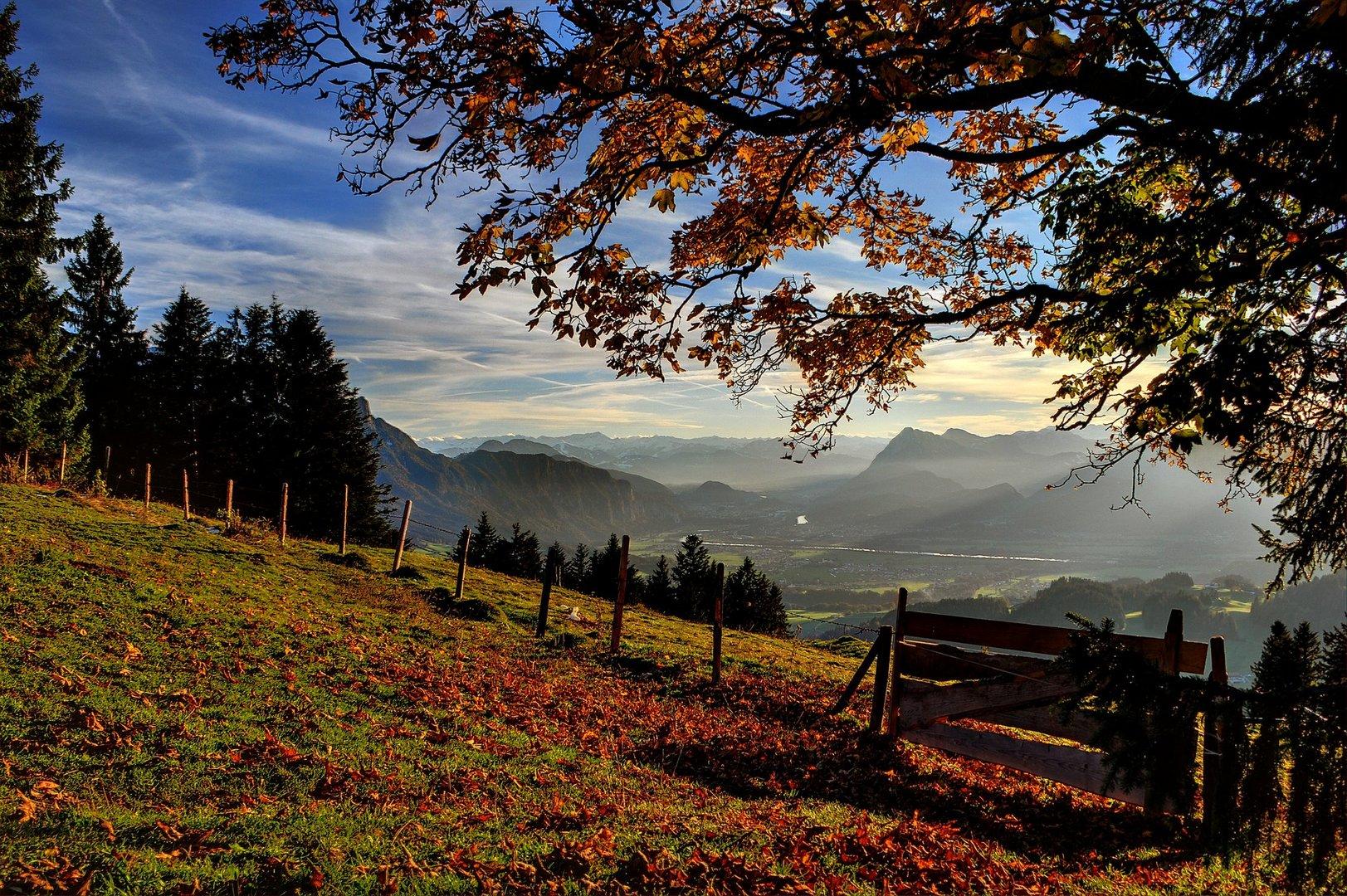 Inntal, Blick auf Ebbs,Kufstein