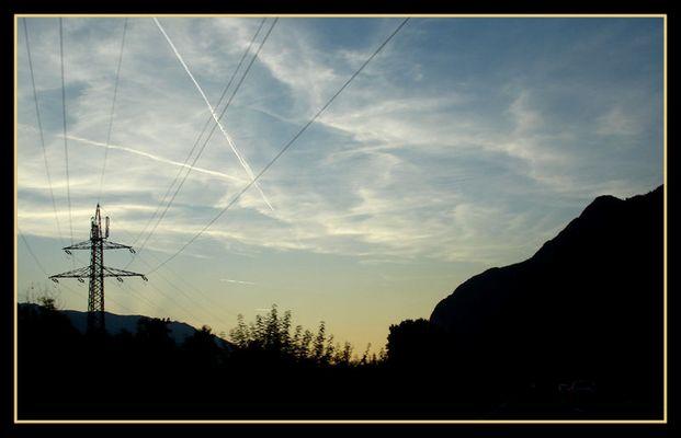 Inntal - Sonnenuntergang