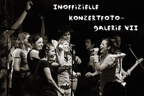 Inoffizielle Konzertfoto-Galerie Teil VII