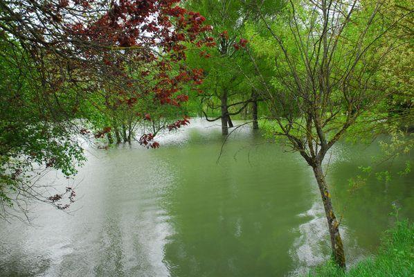 Inondation en Bourgogne