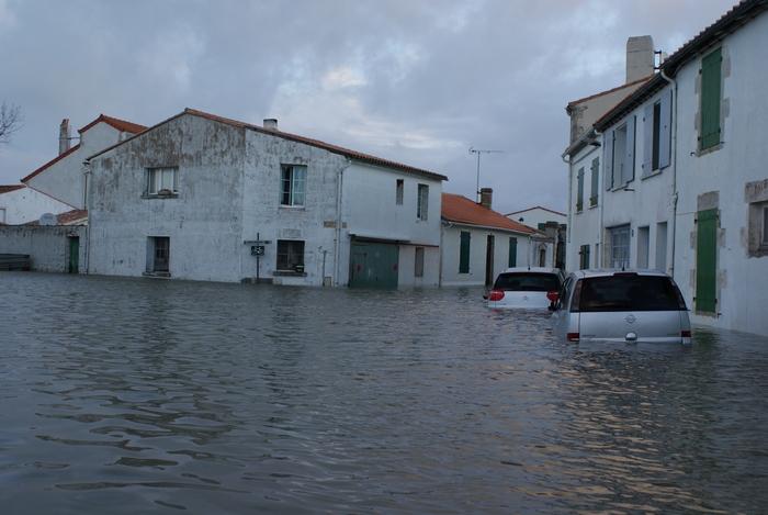 Inondation l ile de r photo et image paysages mers et oc ans nature images fotocommunity - Ile de re lieux d interet ...