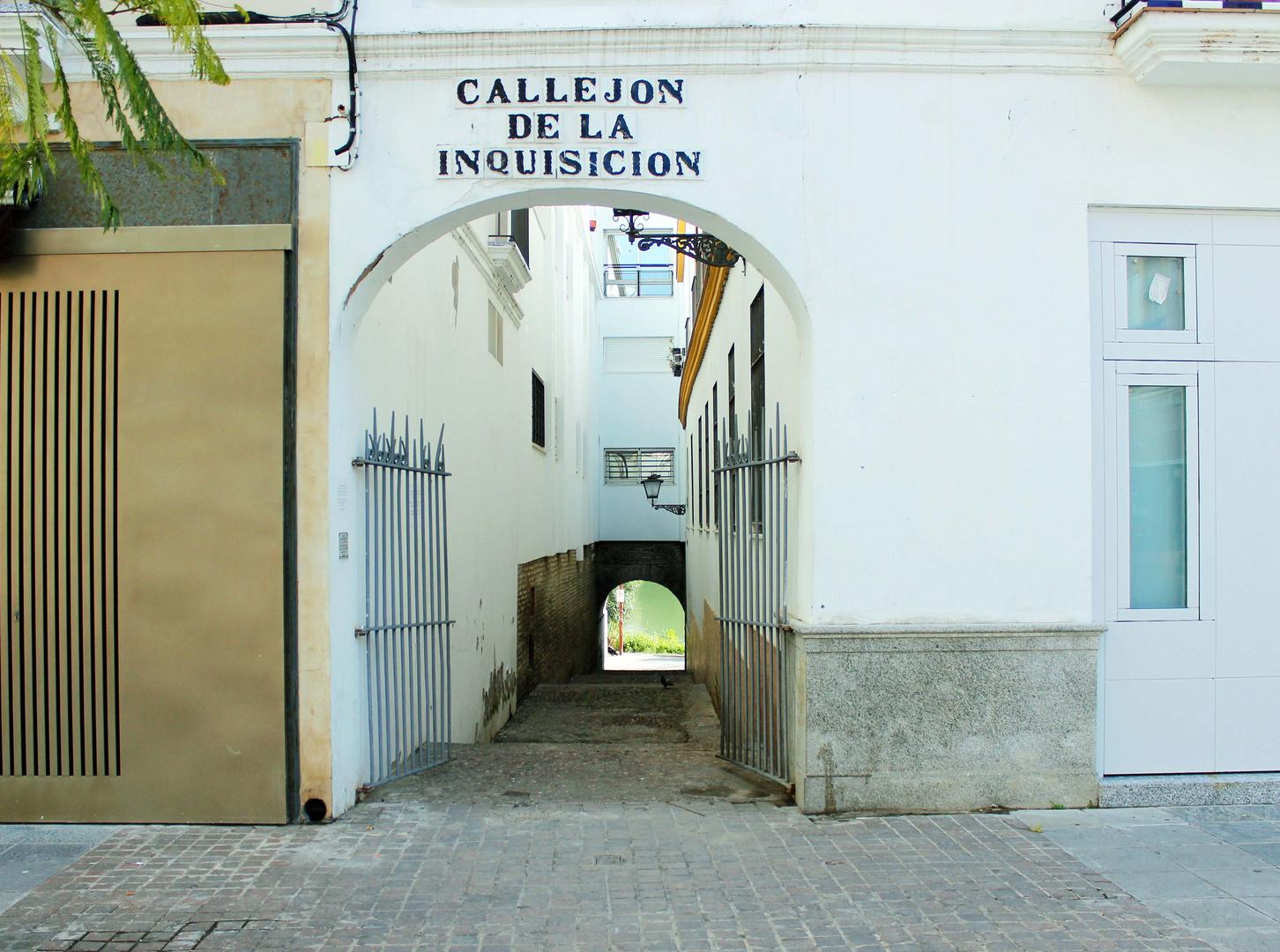 Inquisitionsgasse in Sevilla