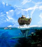 Ins Meer gefallen