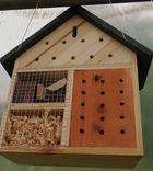 Insektenhotel erster Gast...