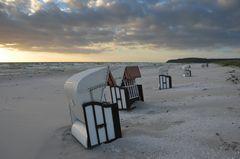 Insel Hiddensee am Abend