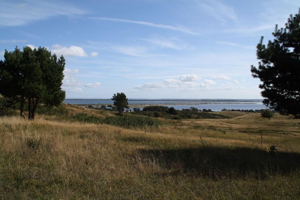 Insel Hiddensee weiter Blick