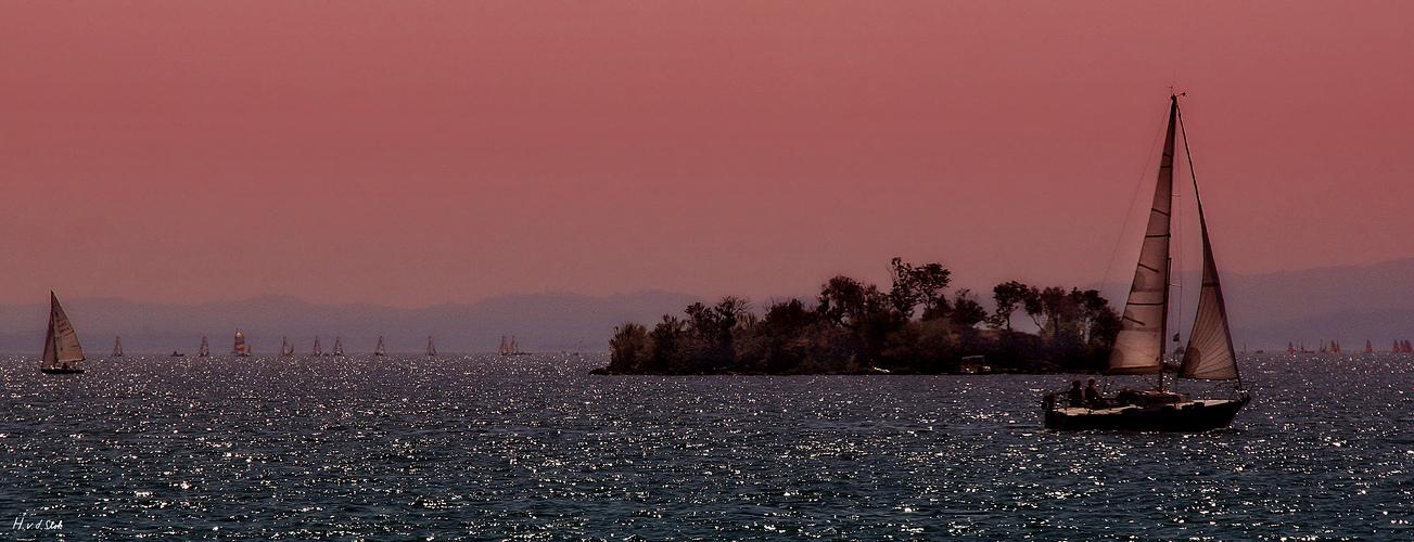 Insel im Lago di Garda