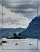 Insel im Loch Carron