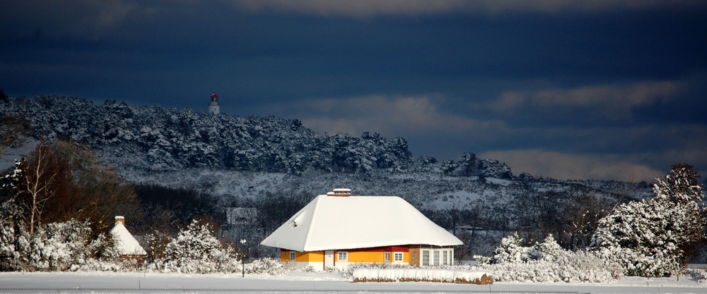 Insel im Winter