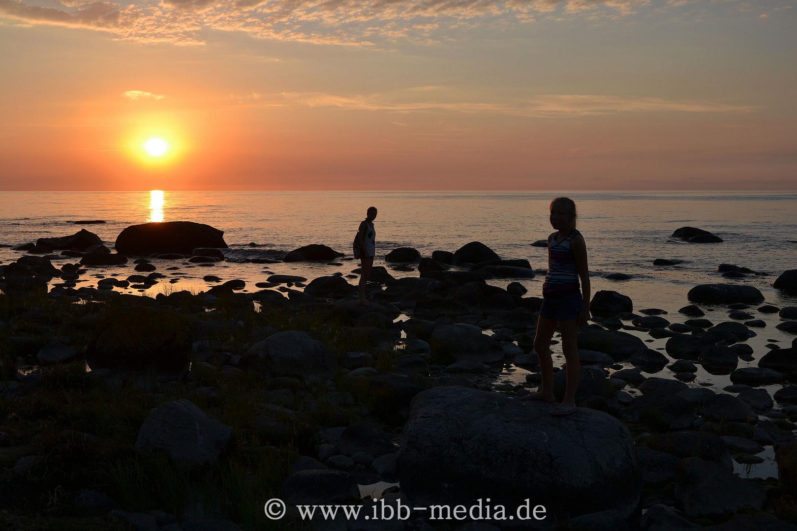 Insel Rügen - Sonnenuntergang Kap Arkona