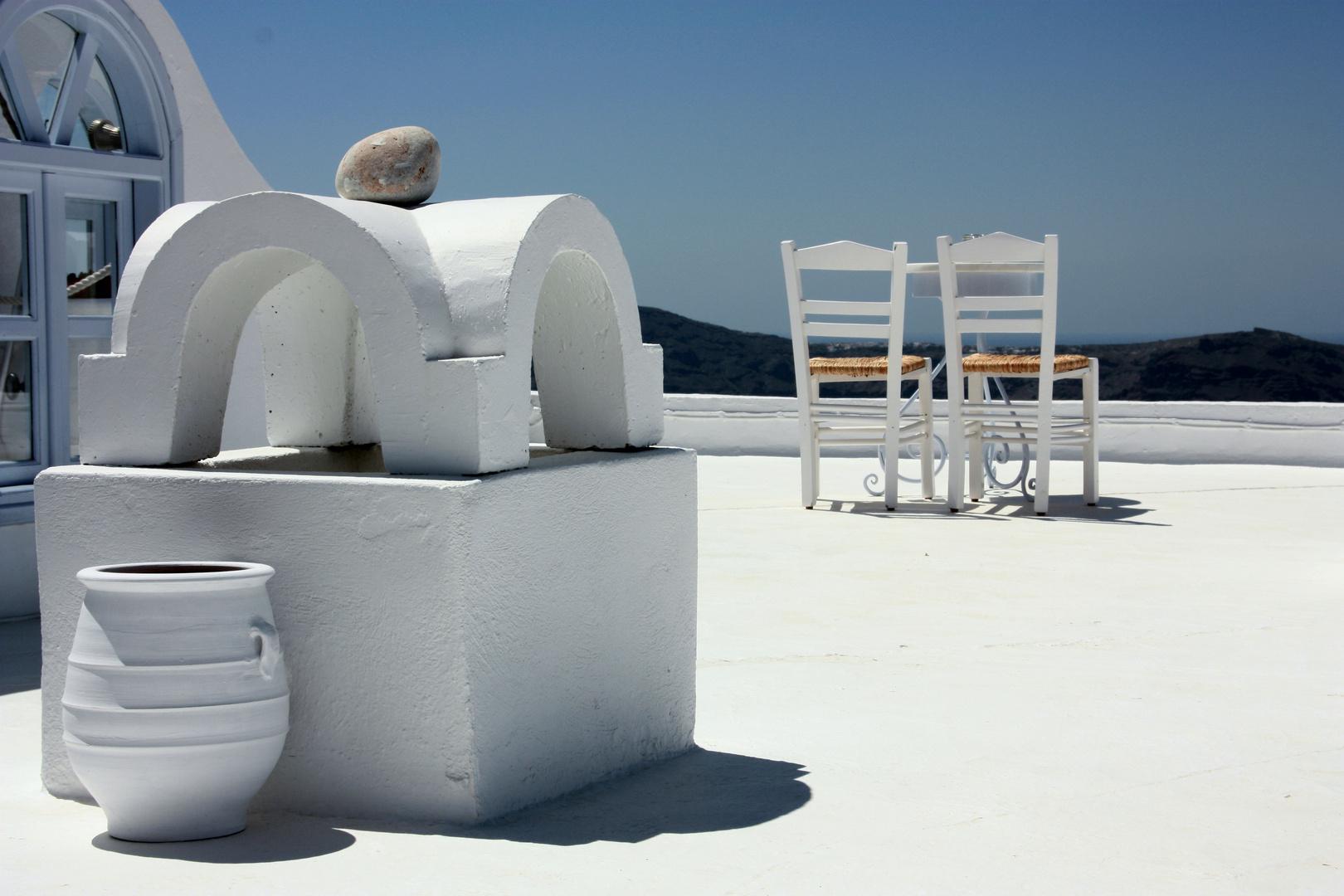 Insel Santorini 2