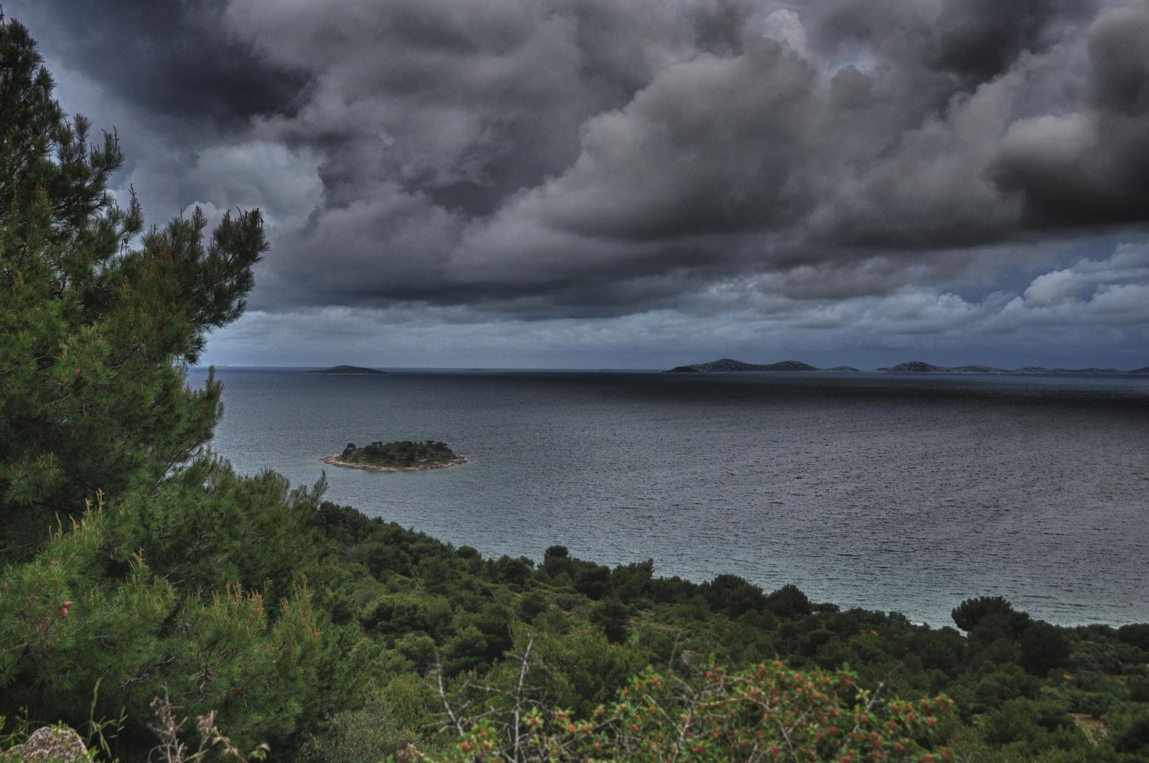 ...Insel vor den Kornaten in Croatien..