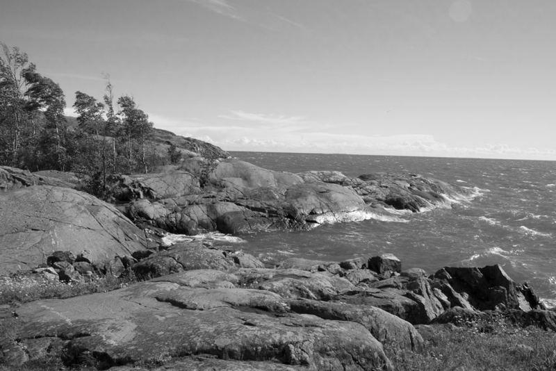Insel vor Helsinki