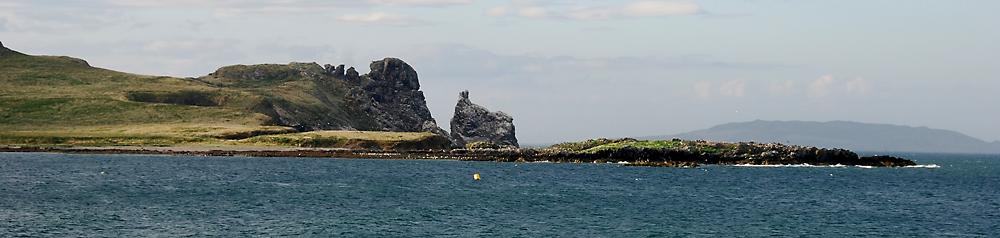Insel vor Howth (nördlich von Dublin)