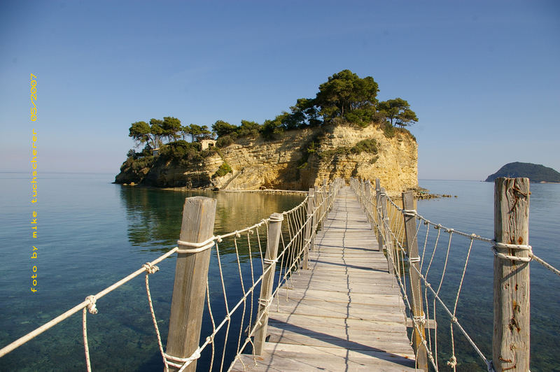 Insel Zakynthos in Greece (Ag.Sostis)