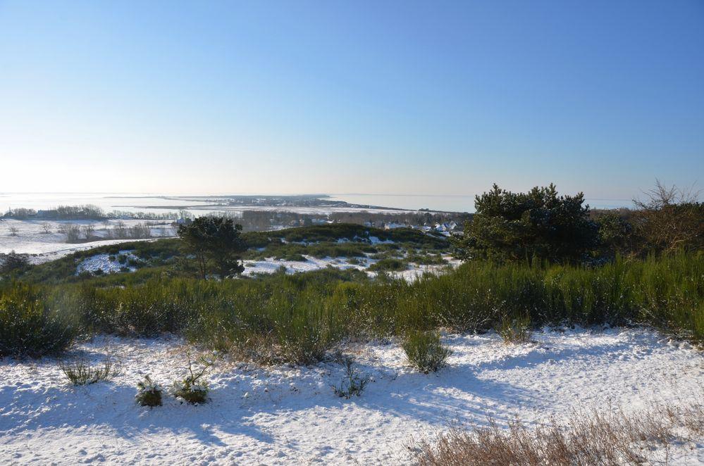 Inselblick im Winter