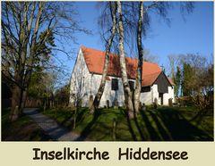Inselkirche in Kloster Hiddensee