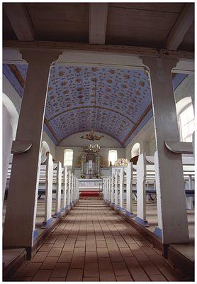 Inselkirche Kloster Innenansicht