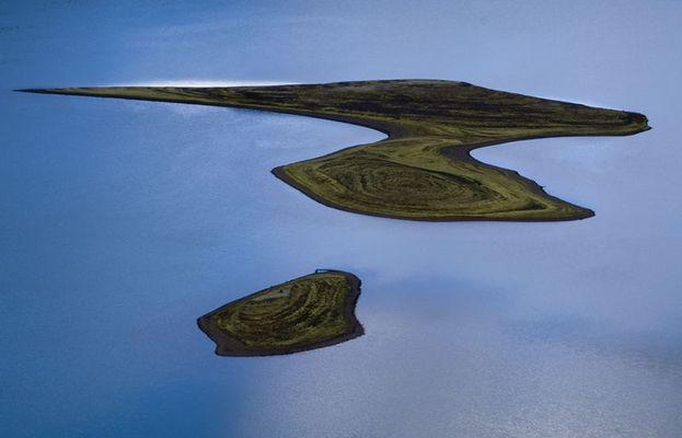 Inseln auf Langisjor